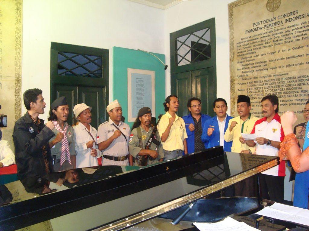 Bina Bangun Bangsa dan Kemenpora Memperingati Hari Sumpah Pemuda