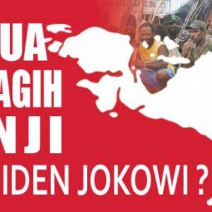 Masyarakat Papua Tagih Janji Jokowi