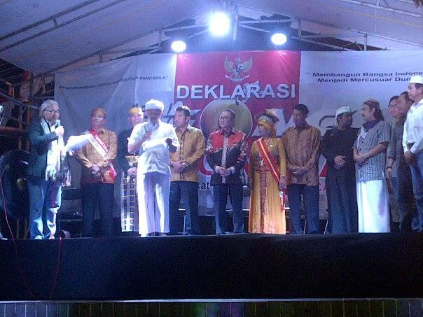 Deklarasi Gema Gong Pancasila