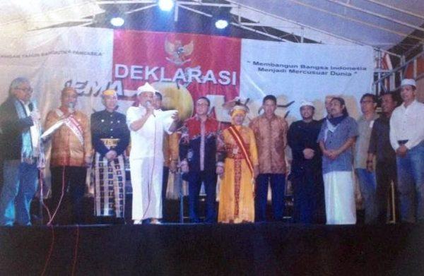 Ketua MPR Deklarasi Gema Gong Pancasila