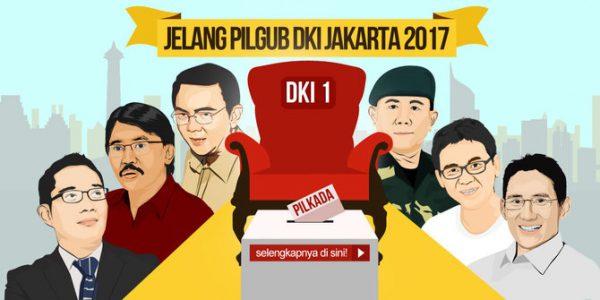 Siapa Calon Gubernur DKI Jakarta 2017-2022 ?