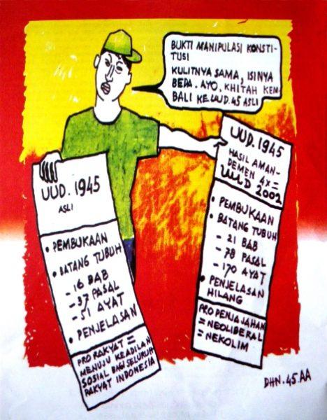 Konstitusi UUD Hasil Amandemen Tahun 2002, Palsu ?