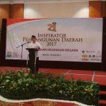 21 Kepala Daerah Terima Penghargaan Inspirator Pembangunan 2017