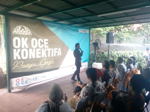 OK-OCE Konektifa, Cara Baru Bangun Wirausaha Berbasis Ekonomi Kerakyatan