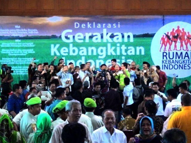 Gerakan Kebangkitan Indonesia Ingin Hadirkan Pemimpin Pancasilais