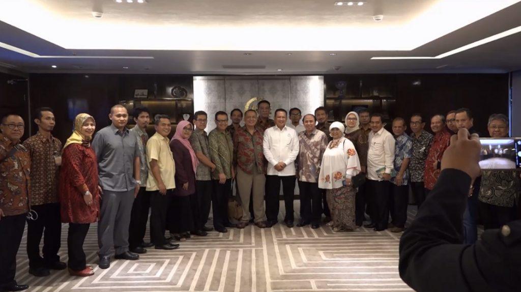 Ketua DPR Terima Kunjungan Gerakan Kebangkitan Indonesia