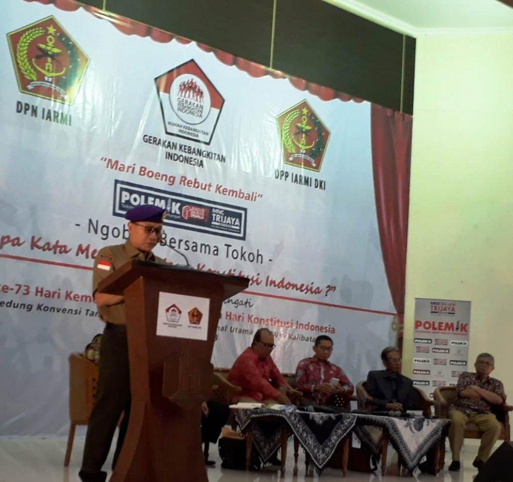 Ngobrol Bersama Tokoh: Quo Vadis Konstitusi Indonesia ?