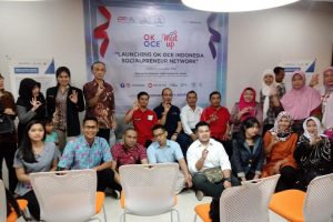 Bina Bangun Bangsa Ikut Launching OK OCE Indonesia Socialpreneur Network