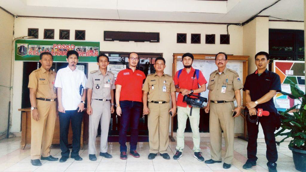 Coach Faran Kunjungi OK OCE Kelurahan Paseban, Kecamatan Senen