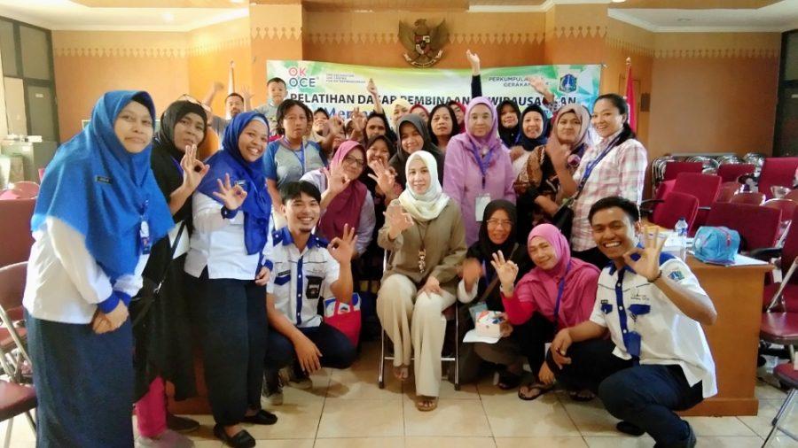 Berita Photo : Pelatihan Dasar Pembinaan Kewirausahaan OK OCE Kecamatan Senen