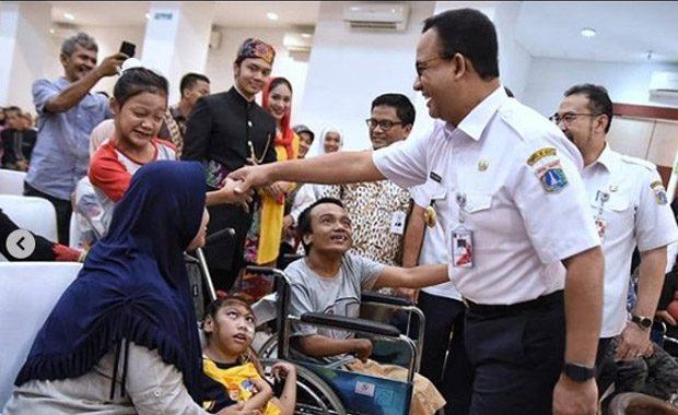 Anies : Para Penyandang Disabilitas Akan Difasilitasi Untuk Mendapatkan Pekerjaan di Jakarta