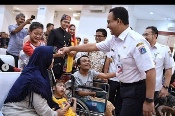 Anies Baswedan : Para Penyandang Disabilitas Akan Difasilitasi Untuk Mendapatkan Pekerjaan di Jakarta
