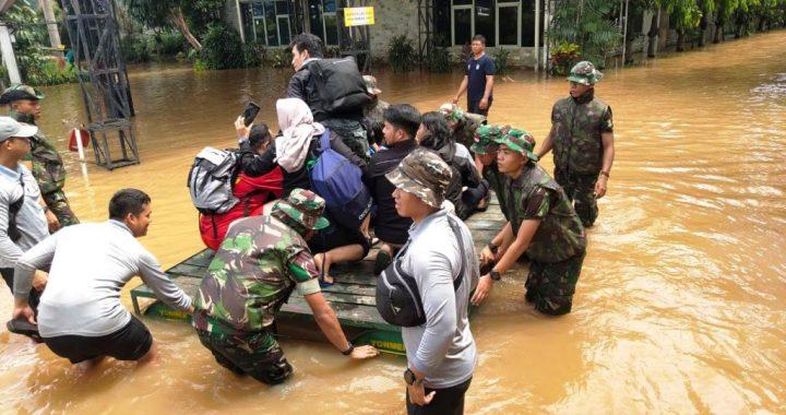 Donasi Kemanusiaan Untuk Korban Banjir dan Bencana Alam, Januari 2020