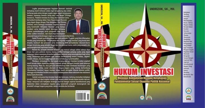 Undrizon, SH., MH : Buku Hukum Investasi