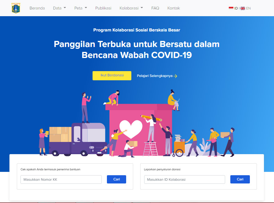 Mau Mengetahui, Apakah Anda Terdaftar Sebagai Penerima Bansos DKI Jakarta ?