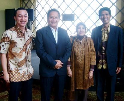 BINA BANGUN BANGSA Diangkat Menjadi Konsultan Khusus Percepatan Pembangunan dan Investasi Daerah Sulawesi Tengah 2011-2016