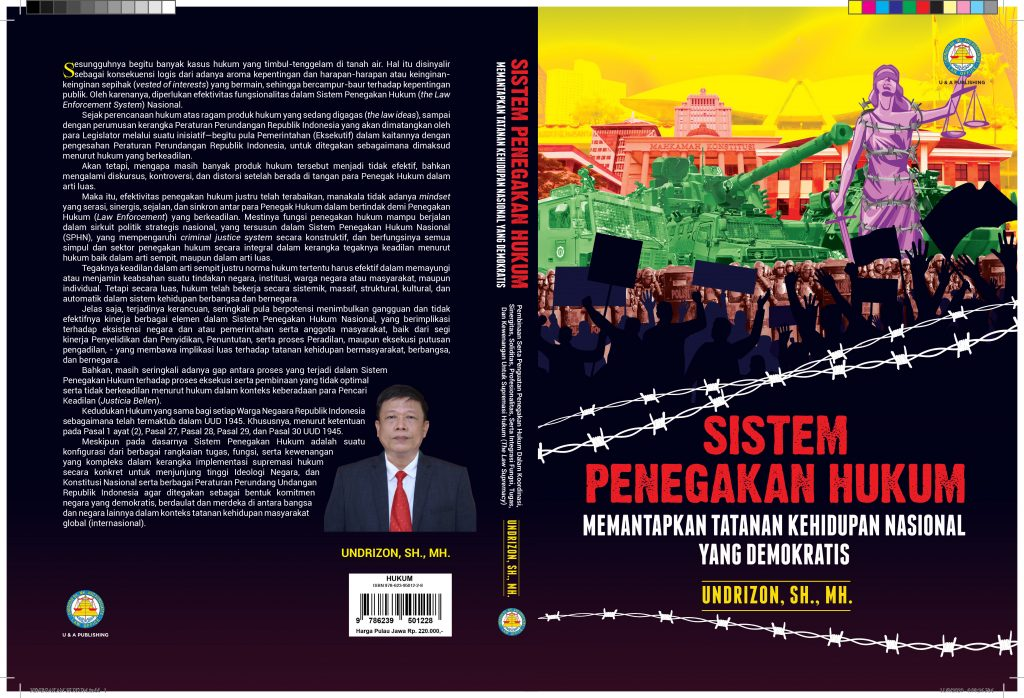 Buku : SISTEM PENEGAKAN HUKUM